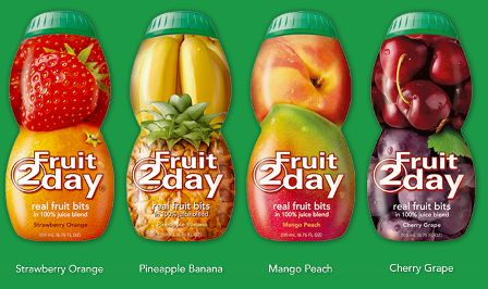 fruit2day bottles