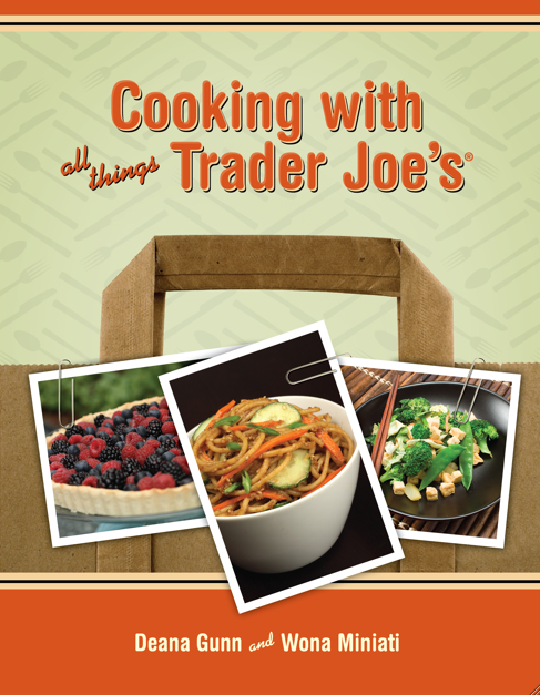 cooking with all things trader joes book cover