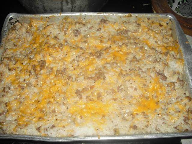 valmg's ground beef rice casserole