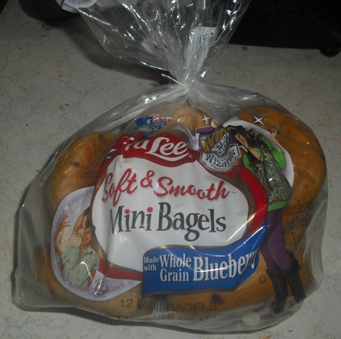 sara lee soft smooth mini bagels