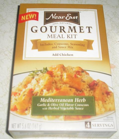 near east gourmet meal kit box