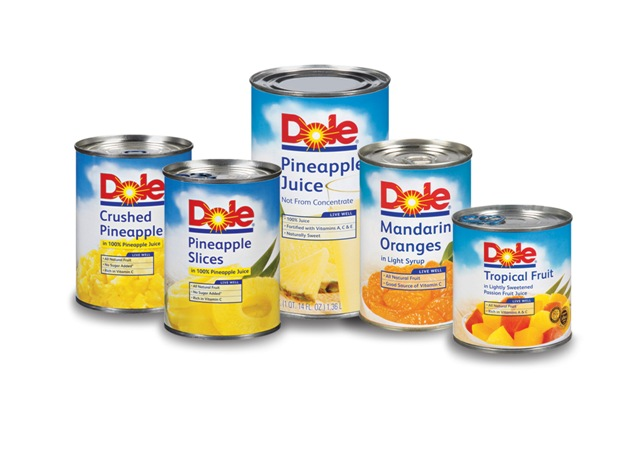 dole cans