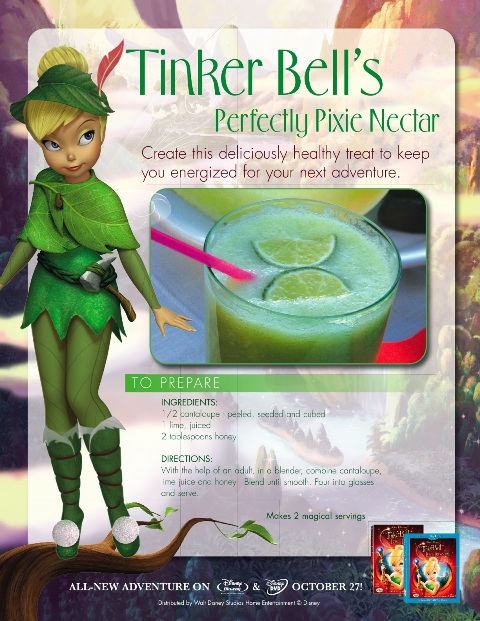 tinker bell perfectly pixie nectar recipe