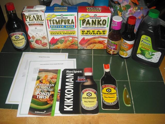 kikkoman box contents