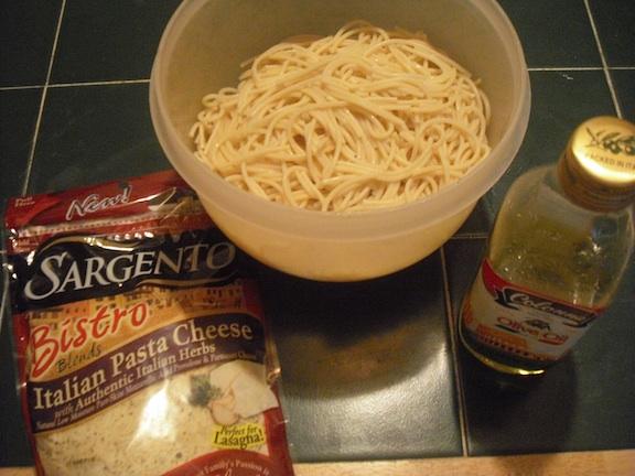 valmgs Cheesy Italian Pasta Ingredients