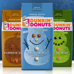 Dunkin Donuts 2010 Holiday Flavors