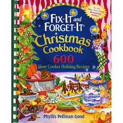 Fix-It And Forget-It Christmas Cookbook Cover