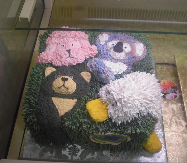 Chelsea Market Animal Cake