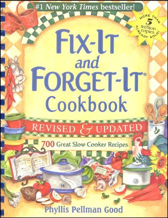 Fix It And Forget It Cookbook Cover