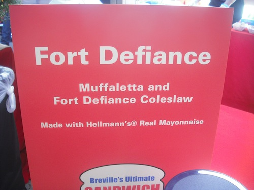 Fort Defiance Sign
