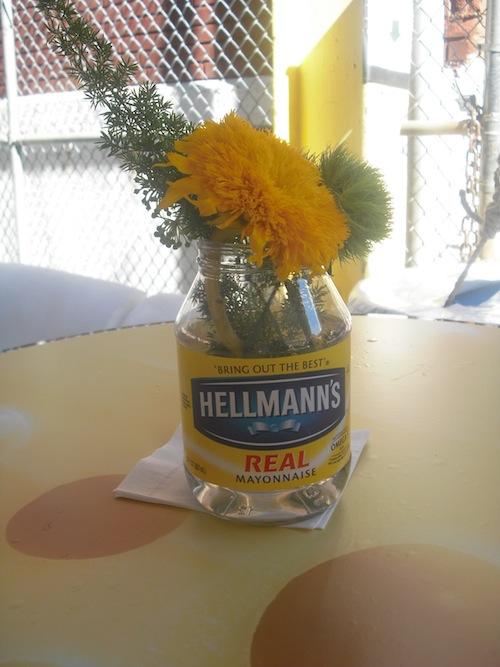 Hellmanns Jar Vase