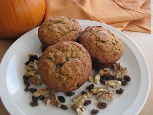 Nutty Pumpkin And Spice Muffin