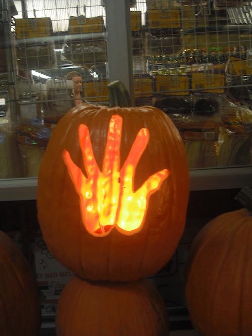 Pumpkin Hand