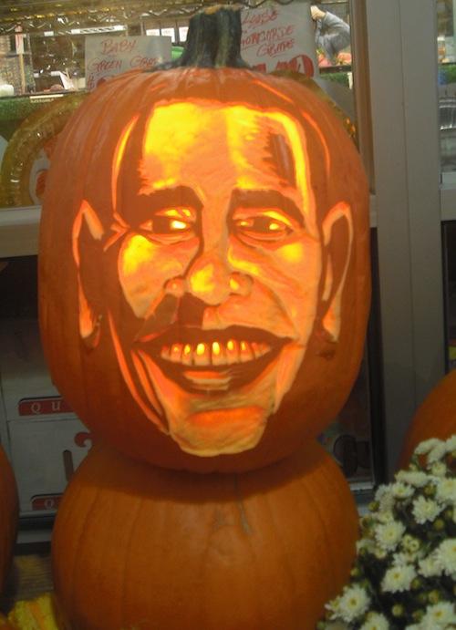Pumpkin Obama
