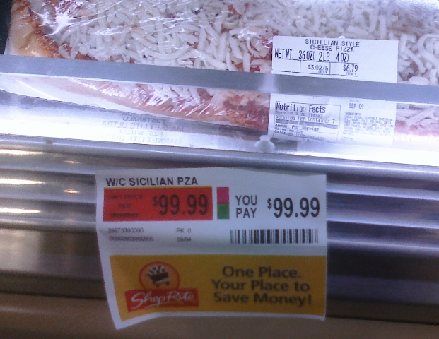 Ww Pizza Pricing Error