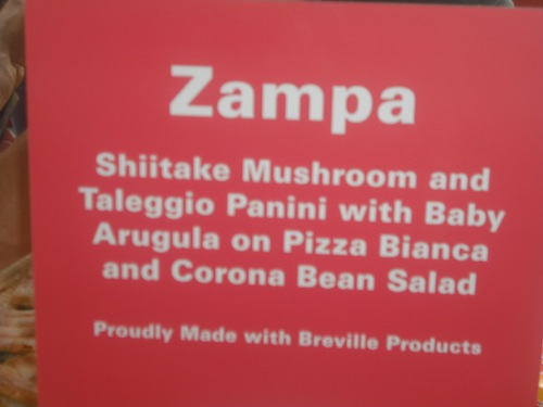 Zampa Sign