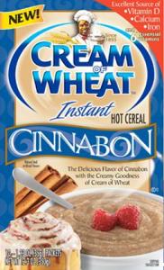 Cinnabon Cream Of Wheat Box