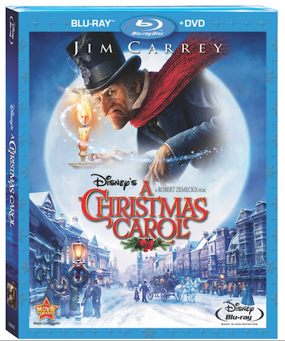 Disneys A Christmas Carol Bluray Cover