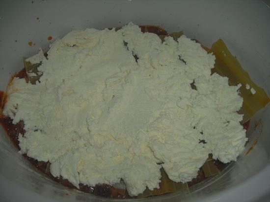 Crockpot Lasagna Layer