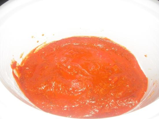 Crockpot Lasagna Sauce Base