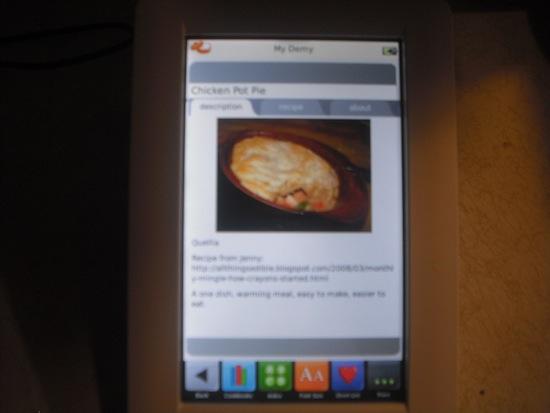 Demy Recipe Pic
