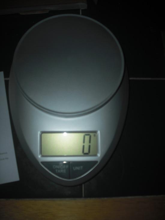 Eatsmart Digital Kitchen Scale Empty