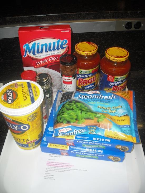 Ragu My Ingredients