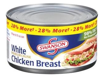 Swanson Chicken Can
