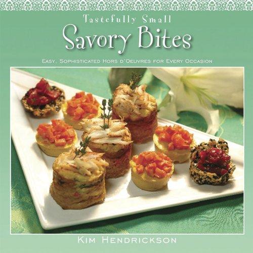 Tastefully Small Savory Bites Cover