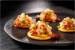 Guy Fieri Ritz Asian Shrimp Toppers