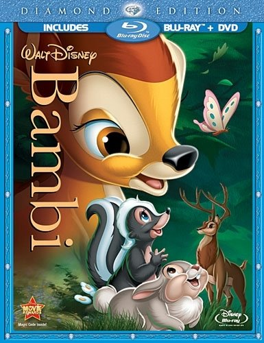 Bambi Bluray Diamond Cover