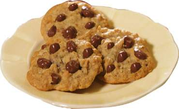 Oatmeal-Milk Chocolate Raisin Cookies