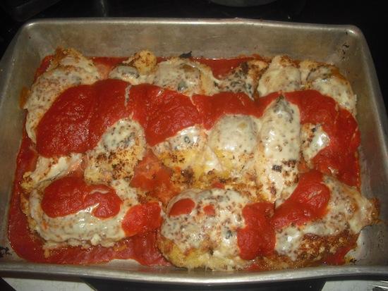 valmg's Panko Chicken Parmesan