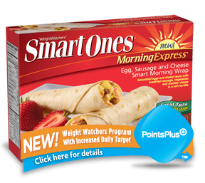 Smart Ones Egg Sausage Cheese Wrap Box