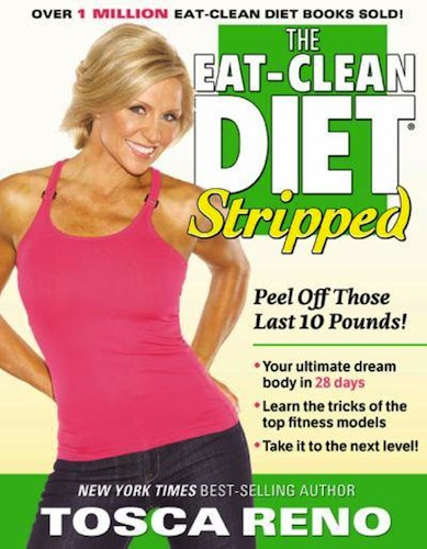 Eat Clean Diet Stripped Cover