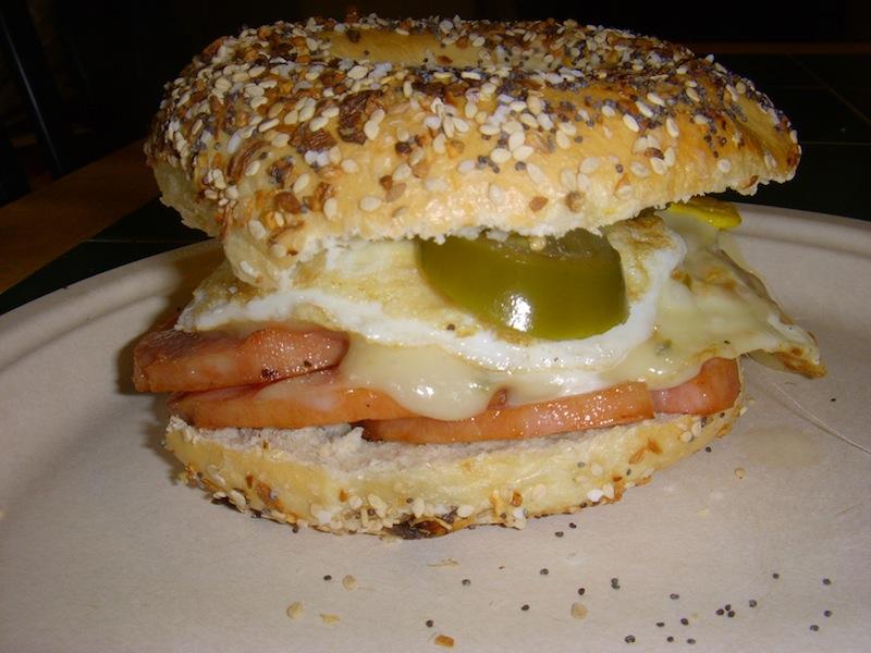 Valmg's Jersey Devil Sandwich Assembled