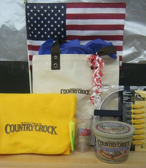 Country Crock Patriotic Prize Kit