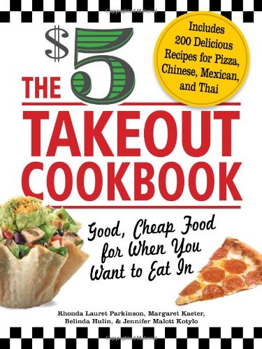The 5 Dollar Takeout Cookbook Cover