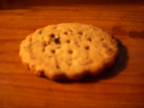 Blueberry Newtons Fruit Thins Cookie