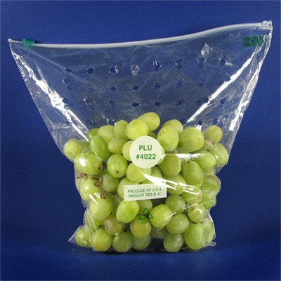 Green Grapes In A Bag