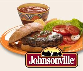 Johnsonville Burger And Logo