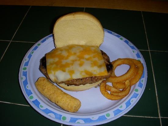 Johnsonville Cheddarella Sausage Burger