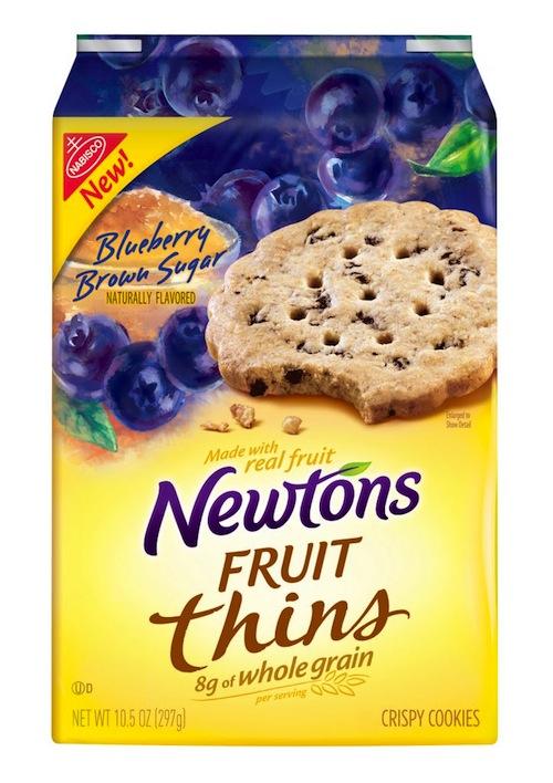 Newtons Fruit Thins Blueberry