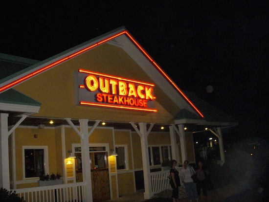 Outback Sign Night