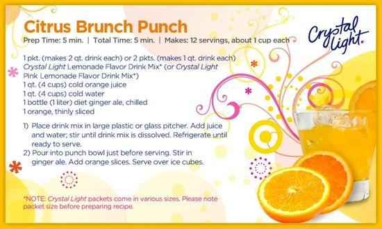 Crystal Light Citrus Brunch Punch