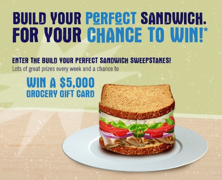 Hellmann's Build Your Perfect Sandwich Sweepstakes