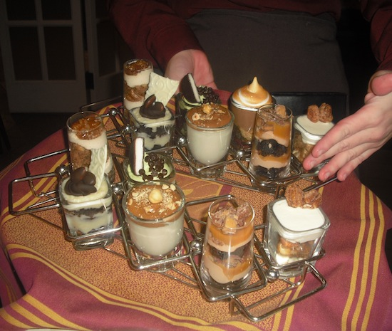 Hershey Shooter Style Desserts