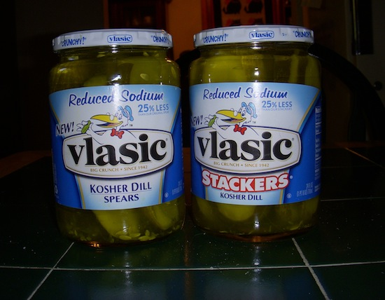 Vlasic Low Salt Pickle Jars