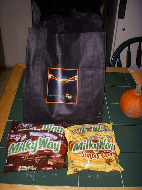 Milky Way review giveaway Prize Pack