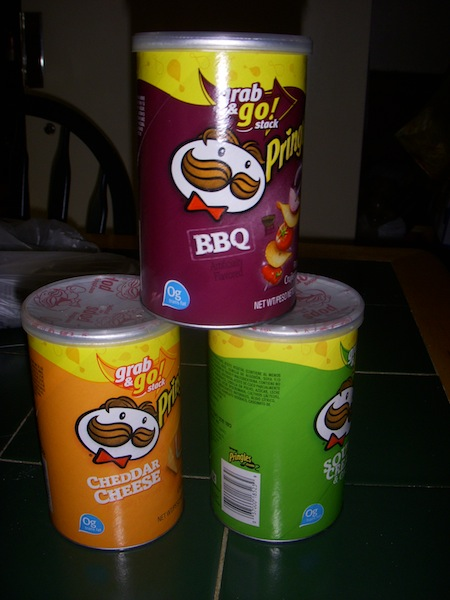 Pringles Snack Cans
